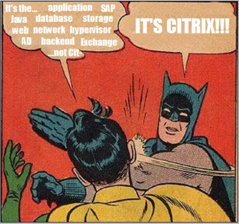 It's always Citrix