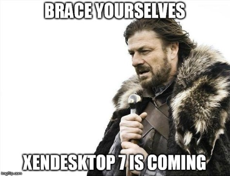 xendesktop7iscoming